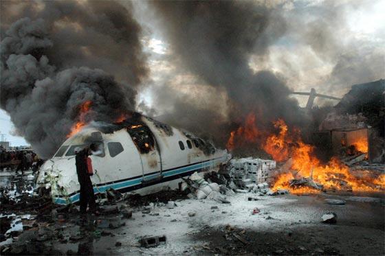 Mueren 127 personas en accidente aéreo en Congo