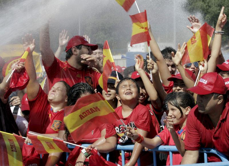 La Copa llegó a suelo español