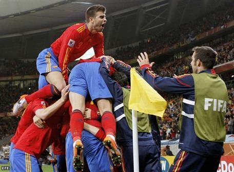 España logró clasificar y se medirá ante Paraguay
