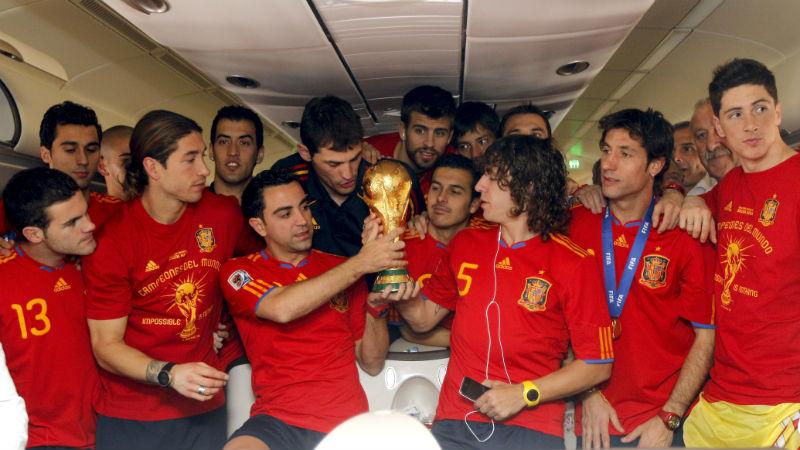 Selección española destrona a la de Brasil
