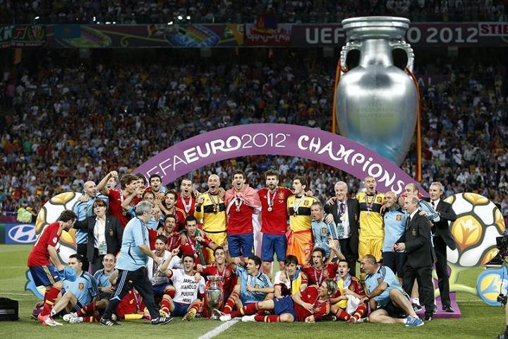 España se corona campeón de la Eurocopa 2012