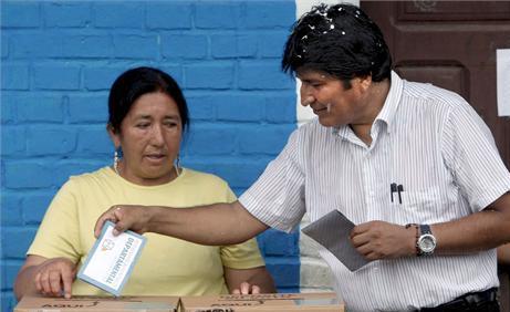 Morales gana las elecciones con más del 60%, según sondeos