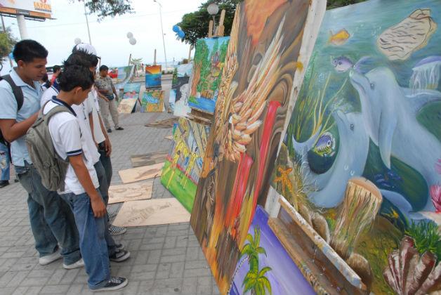 El arte llega a Manta