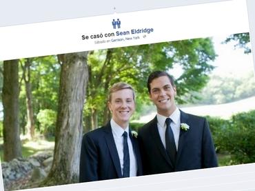 Facebook incluye íconos de matrimonio homosexual