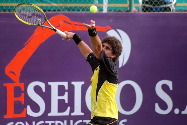 Arguello, el primer finalista  del Manta Open 2011