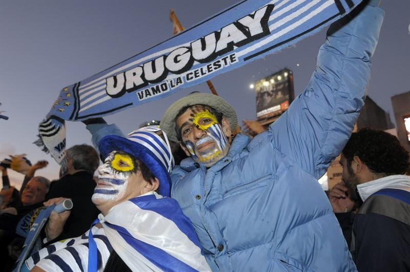 Uruguay festeja con júbilo su supremacía futbolística en América