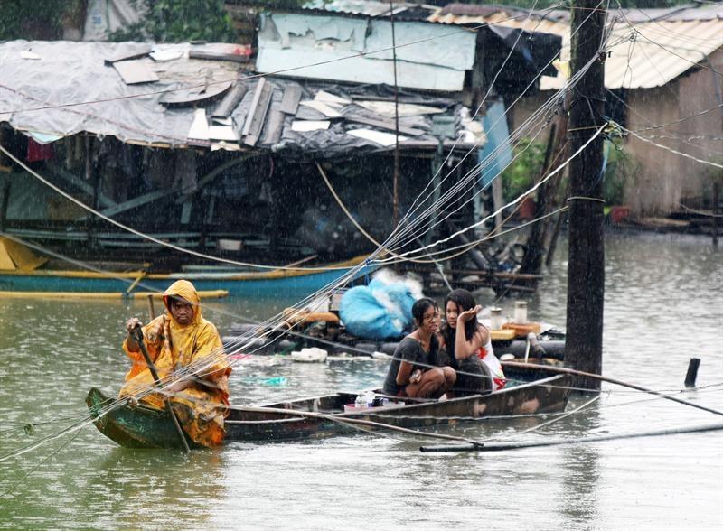 27 Muertos y 645.000 afectados por una tormenta tropical