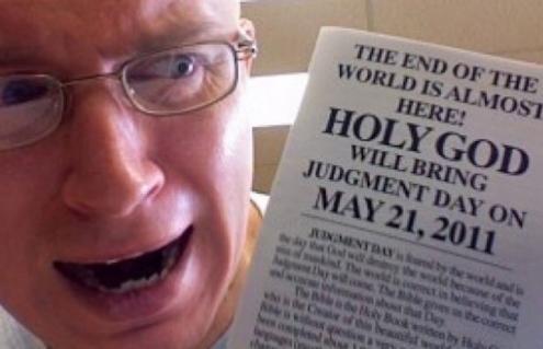 Estudioso dice que el fin del mundo es el 21 de mayo