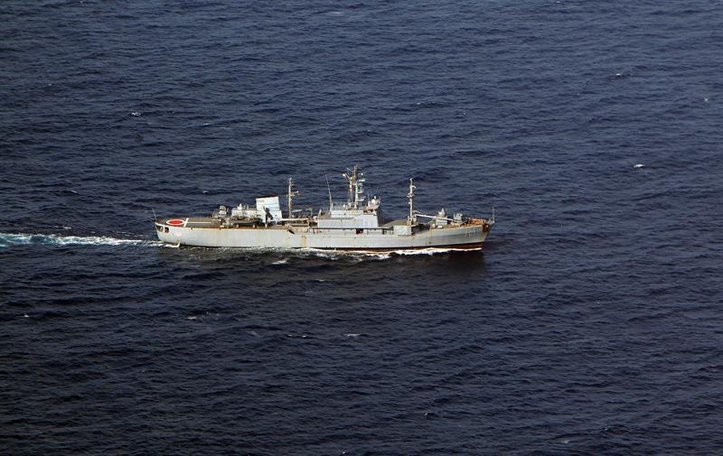 Fragatas y patrulleras colombianas permanecen en aguas concedidas a Nicaragua