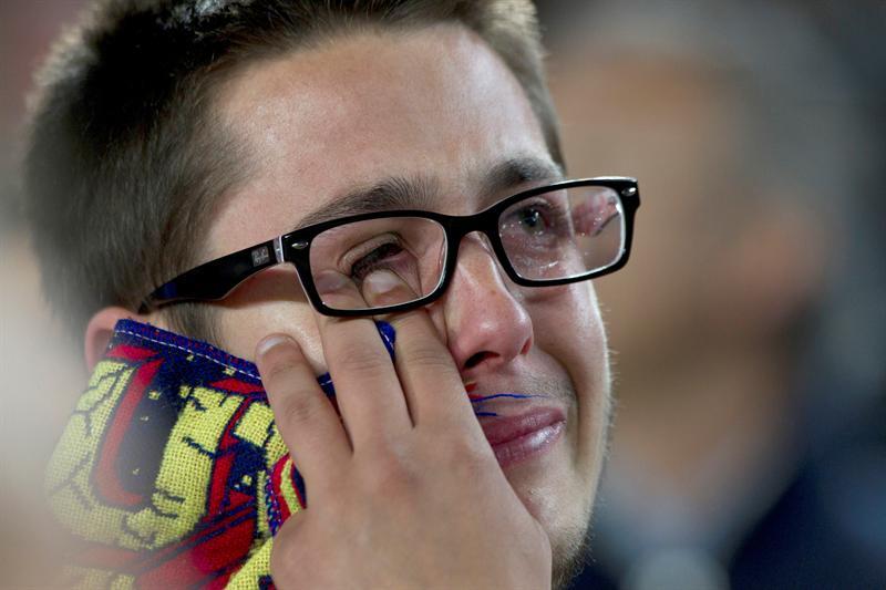Barcelona es eliminado de la Liga de Campeones