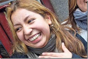 Ecuatoriana, entre los ganadores de lotería española
