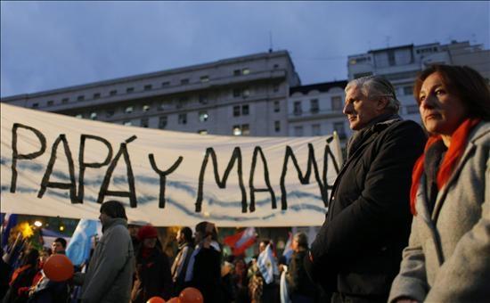 Argentina debate la Ley de Matrimonio Gay