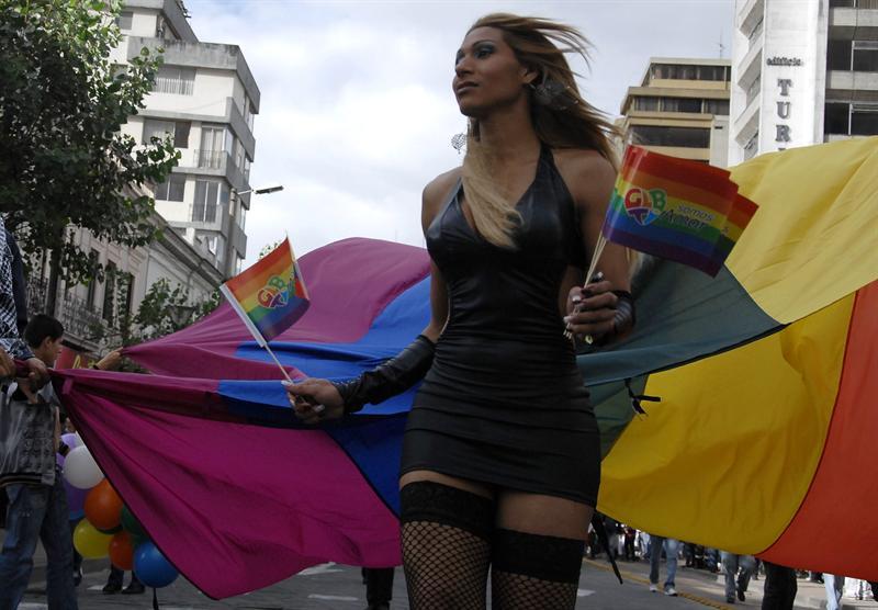 Comunidad gay se viste de alegría durante marcha
