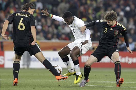 Alemania derrota a Ghana y ambas alcanzan los octavos