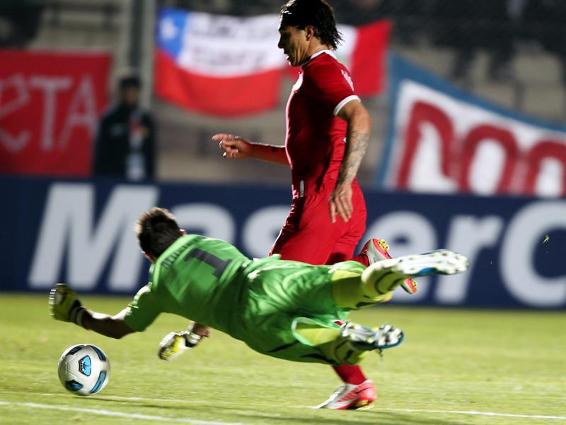 Paolo Guerrero, elegido el mejor jugador del partido