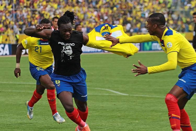 Ecuador gana 4-1 y sueña con el Mundial (2T)