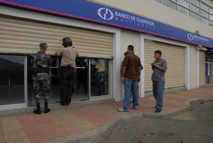 Inician instrucción al único implicado en robo a banco