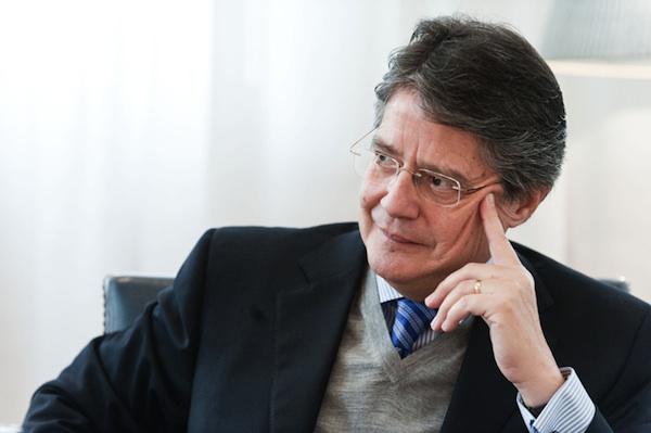 Guillermo Lasso Guillermo Lasso habra confirmado candidatura presidencial