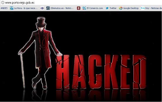 'Hackean' página oficial del Municipio de Portoviejo