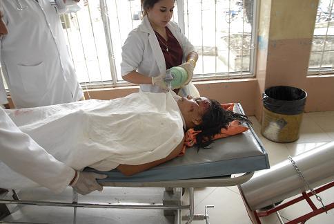 Dos heridas trasladadas a Portoviejo