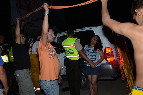 Una mujer muere en un accidente de tránsito en la vía Portoviejo-Manta