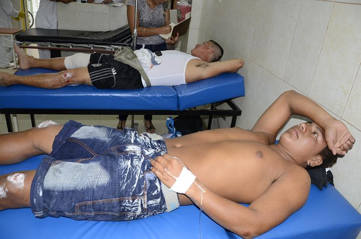 Dos heridos en accidente de tránsito en San Eloy