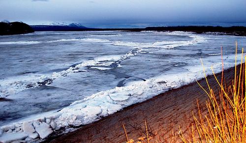 Alerta por una capa de hielo de 480 kilómetros