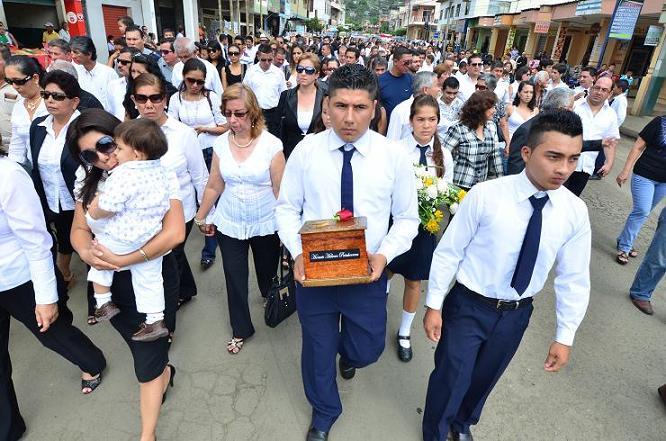 Manabí despidió a Horacio Hidrovo Peñaherrera