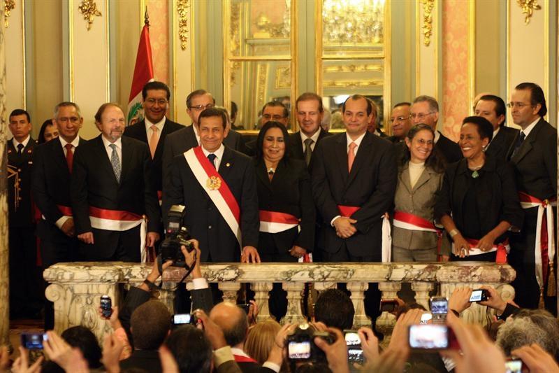 Humala promete 'un gobierno diferente' al resto de la región
