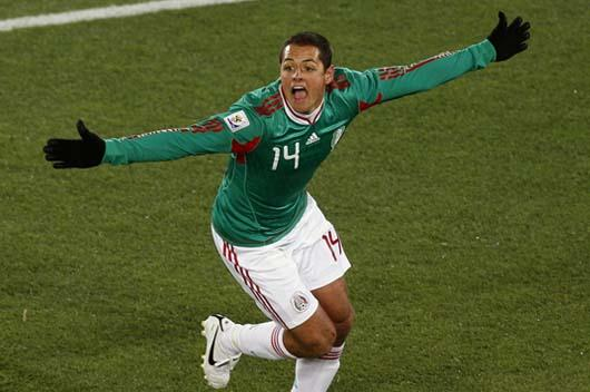 México se adelanta a Francia, 2-0