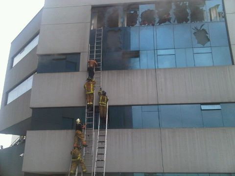 Una mujer muere durante un incendio en Guayaquil