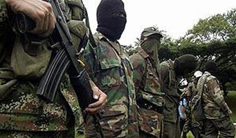Detienen a 2 presuntos guerrilleros de las FARC