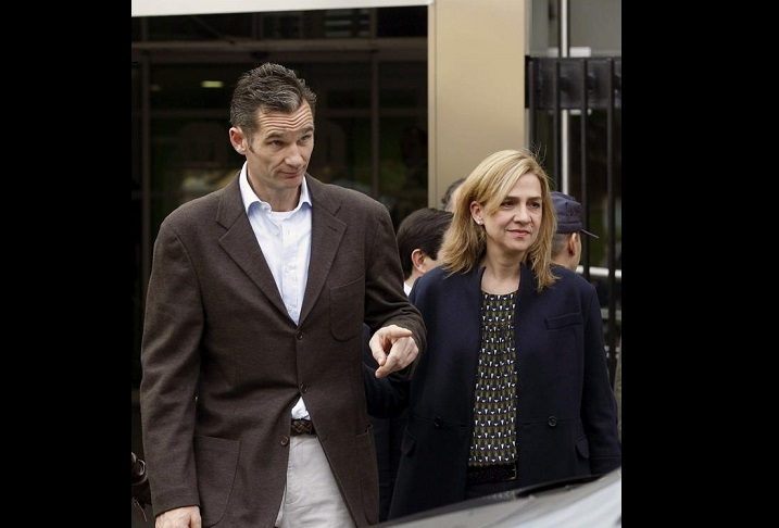 La infanta Cristina, hija del rey de España, es imputada por corrupción
