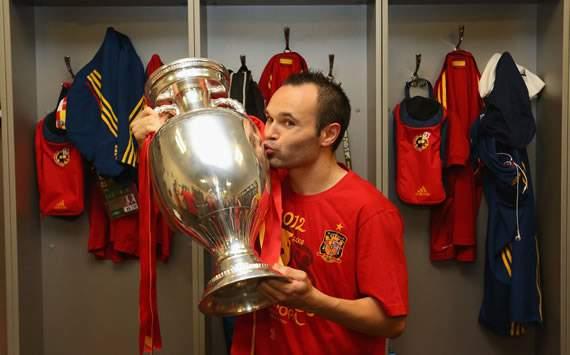 Iniesta es el mejor jugador de la Eurocopa 2012