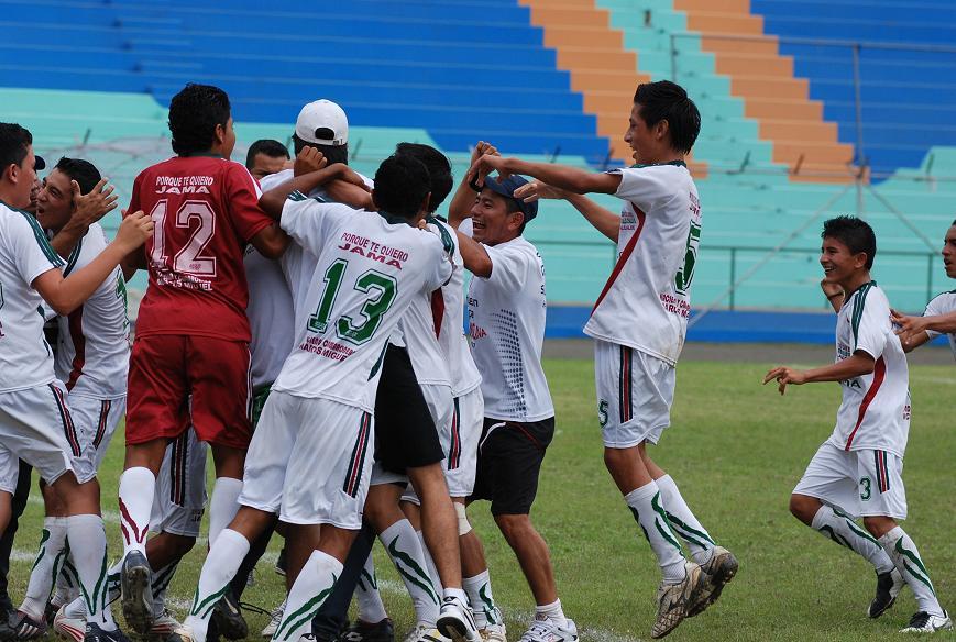 Copa El Diario: Jama va ganando por 2-0 a Pichincha