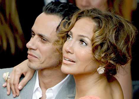 Marc Anthony y Jennifer López se separan