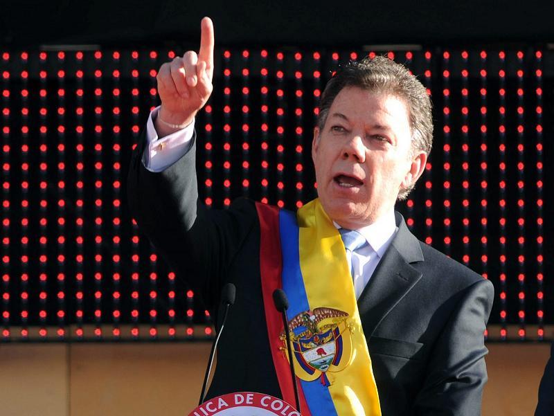 Presidente de Colombia rechaza juicio por caso Angostura