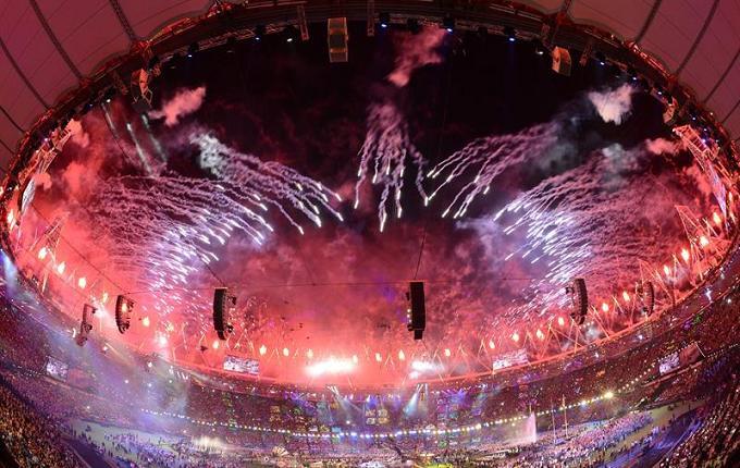 Londres clausura los Juegos Paralímpicos 2012