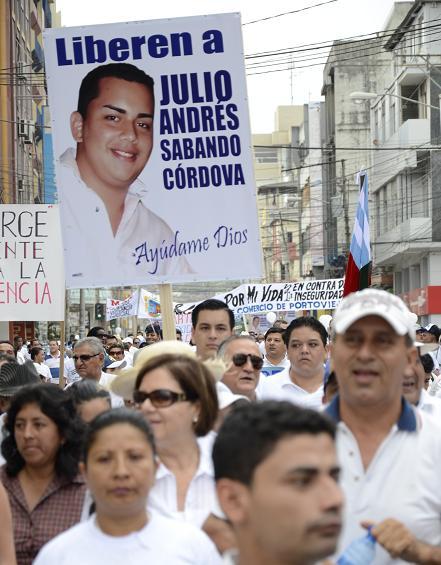 Implicados en secuestro de Sabando reciben prisión preventiva