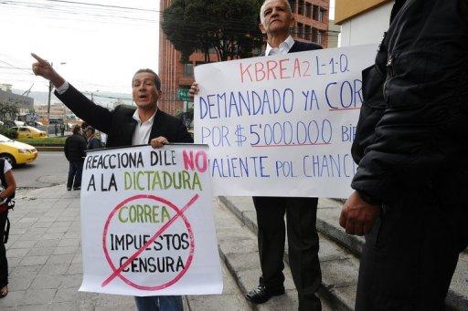 Correa logró silenciar a la prensa en el Ecuador