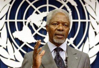Kofi Annan: el hambre puede convertirse en una catástrofe permanente
