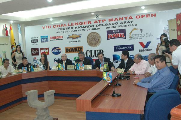 VIII torneo Challenger Manta Open inicia este sábado 16