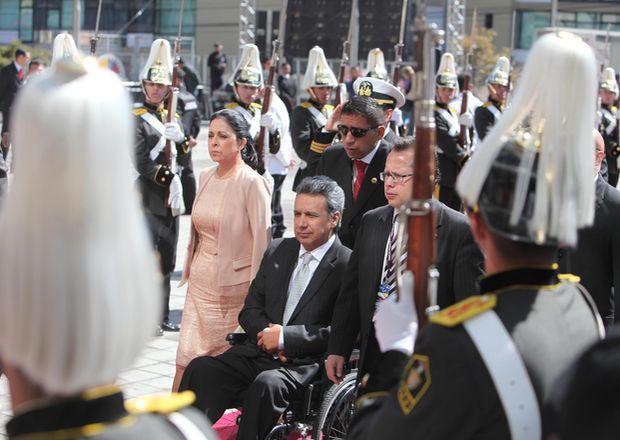 Vicepresidente Moreno dice que la misión Manuela Espejo continúa