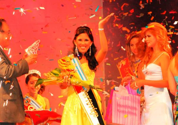 Leonela Guerra fue electa Miss Portoviejo 2009