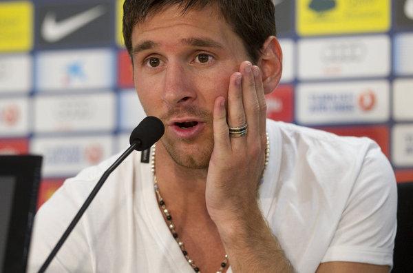 Messi: 'Algún lugar en casa le encontraré'