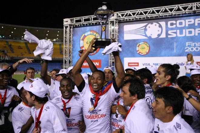 Liga de Quito levantó la Copa Sudamerican en partido de infarto