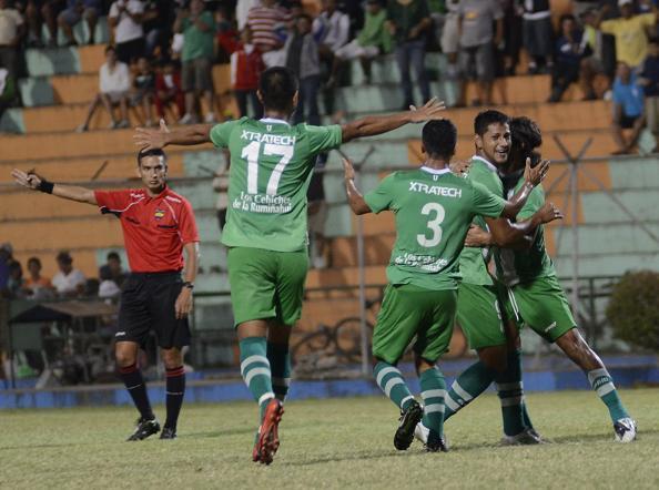 Liga (P) gana 3-0 al Santa Rita