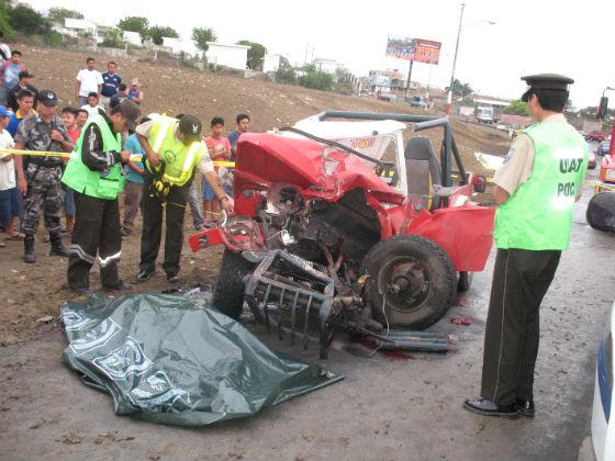 Policía alarmada por constantes  accidentes de tránsito