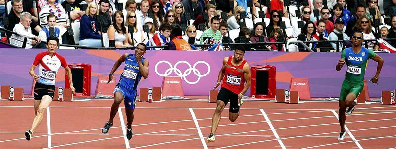 Álex Quiñónez en los Juegos Olímpicos 2012