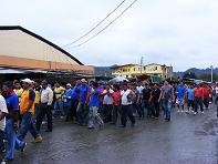 Mototaxistas protestan porincumplimientos
